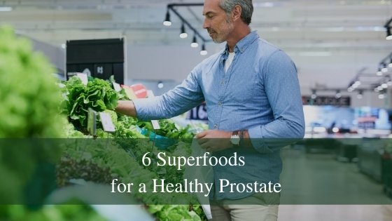 superfoods for a healthy prostate