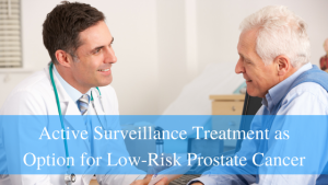 low-risk prostate cancer doctor consult