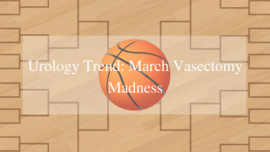 march vasectomy madness