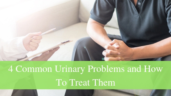 4 common urinary problems