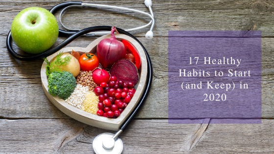 Healthy Habits for New Year Resolutions
